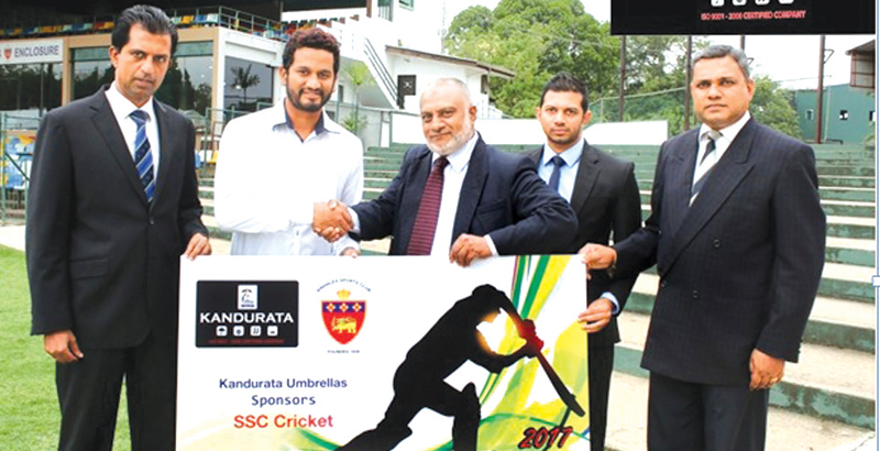 kandurata-umbrella-fosters-ssc-cricket-for-6th-year